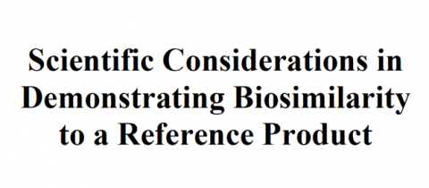 Scientific Considerations in Demonstrating Biosimilarity to a Reference Product